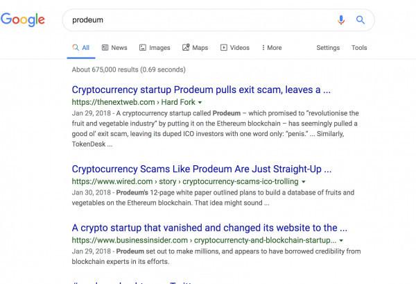 Remove negative links on google
