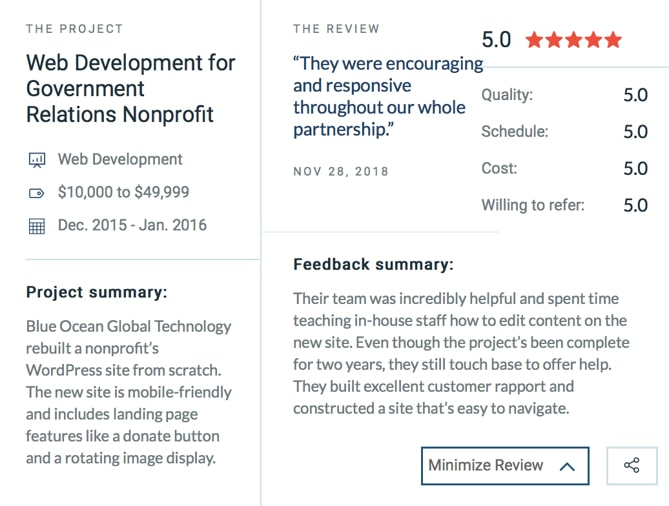 Blue Ocean Global Technology and Reviews