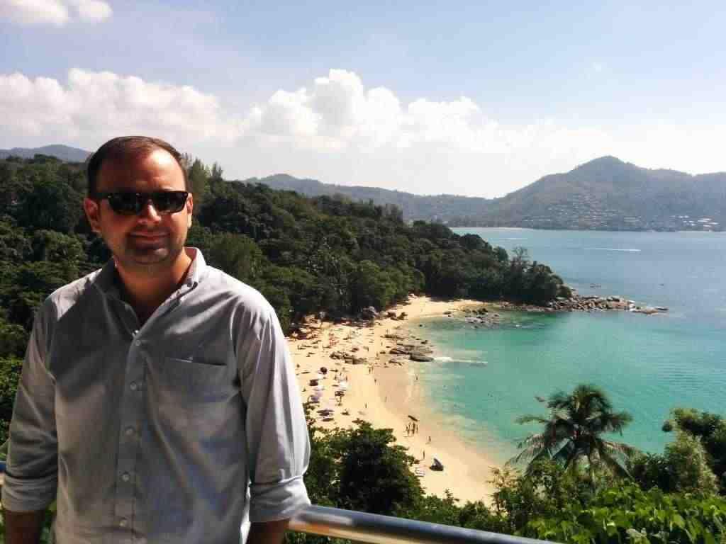 Ben Lambert travelling vacations