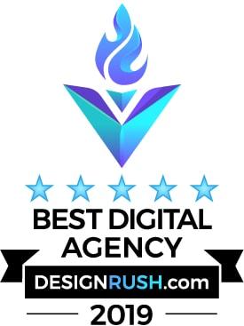 DesignRush - Best Digital Agency Award