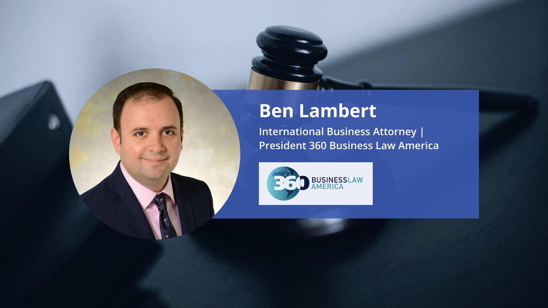 Blue Ocean Global Technology Interviews Ben Lambert