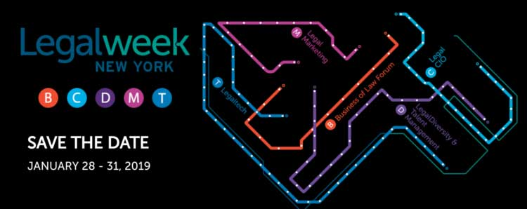 LegalWeek 2018: The Premier Legal Technology & Marketing Conference