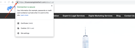 SSL certficate for on-site SEO