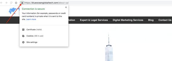Site Security–SSL